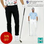 ストレッチテーパードロングパンツefficace-hommeエフィカスオムメンズゴルフウェア