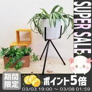 [サンカ]パワーレッグスタンド255GD-1674*【アイアンスタンドおしゃれガーデニング雑貨鉢鉢置き鉢台プランタースタンド】