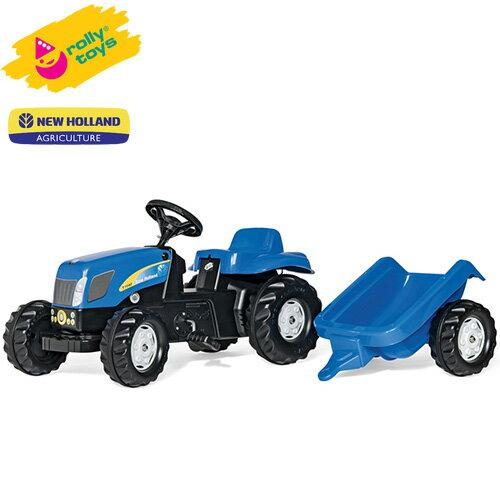 ローリートイズ足こぎトラクターNewHollandKIDRT013074組立要Rollytoys足けり乗用玩具乗り物子どもプレゼ