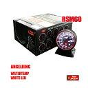 オートゲージ 水温計 RSM 60Φ エンジェルリング ホワイト LE...