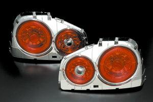 スカイライン R34 2ドア LEDテール クリアワールド受注生産品 スカイライン R34 2ドア LEDテー...