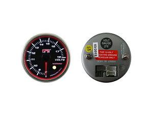 オートゲージ電圧計SM52ΦエンジェルリングホワイトLED