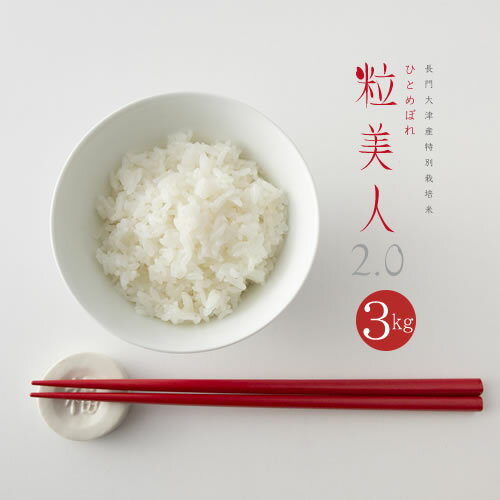 新米お米お試し送料無料ひとめぼれ粒美人2.0ポイント消化選べる白米玄米3kg米コメ