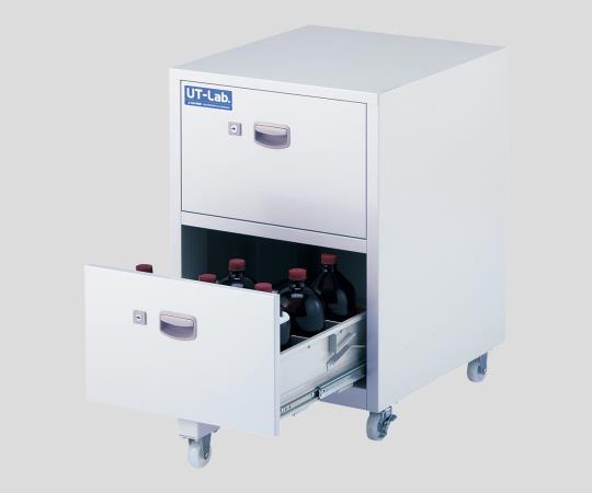 2-709-02 薬品保管ユニット 450×500×652mm:GAOS