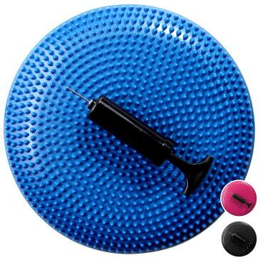 バランスディスク バランスクッション 1個 ポンプ付き EGS(イージーエス) バランスディスク EG-3082【体幹クッション ヨガクッション】【バランスボール ヨガマット 腹筋ローラー ダンベル などの 筋トレ ヨガ フィットネス 用品 と一緒に】