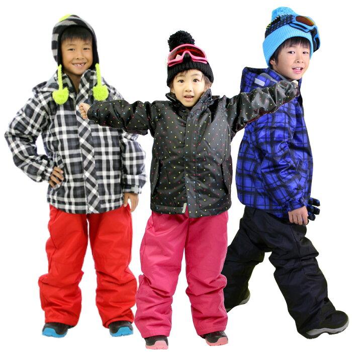 スキーウェア キッズ ジュニア 上下 セット VAXPOT(バックスポット) 子供 スキー ウエア 上下セット VA-2028【耐水圧 2000mm 撥水加工 雪遊び ウエア キッズ】【スノーブーツ スキー ゴーグル スキーグローブ ソックス とあわせて】