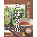 ユニマットリケン 国産直火焙煎 ごぼう茶 3GX30袋