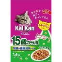 カルカン ドライ 15歳から用 かつおと野菜味 1.6KG