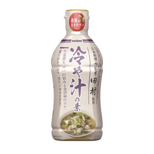 マルコメ 液みそ つきぢ田村監修 冷や汁の素 430G×10個セット