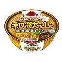 日清食品 麺ニッポン 和歌山特濃豚骨醤油 124G×12個セット