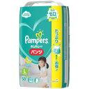 P&G パンパース さらさらケア パンツタイプ Lサイズ (9-14KG) 56+2枚 紙おむつ