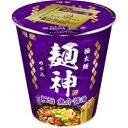 明星 麺神カップ 極旨魚介醤油 96G×12個セット