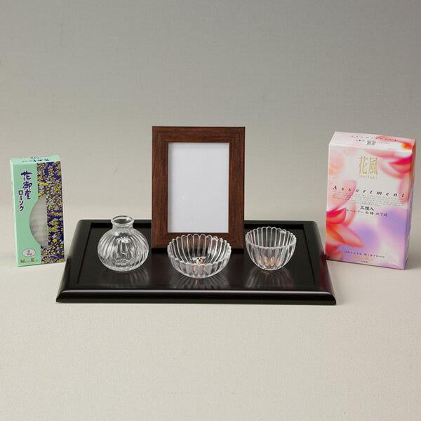 江原仏具店『ミニ仏壇お偲び揃えステージタイプ日本香堂』