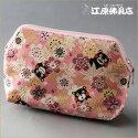 [メール便OK]念珠袋別誂袋(くまモン柄)桜ピンク【数珠袋・数珠入れ】【HLS_DU】【RCP】【10P03Dec16】