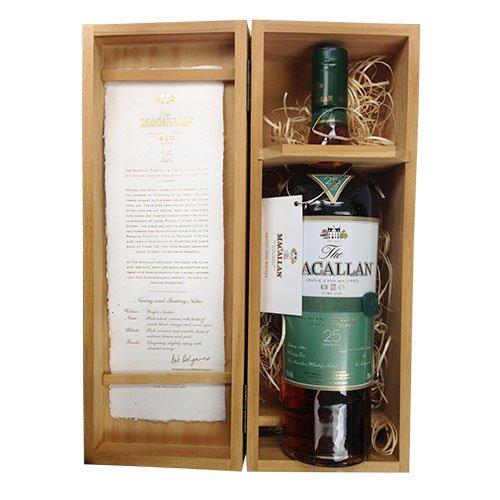 ザ・マッカラン ファインオーク 25年 ギフト木箱入り:ワインと地酒の店 かたやま