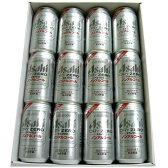 アサヒ ドライゼロ レギュラー缶 350ml缶12本 ギフトカートン 【楽ギフ_包装】