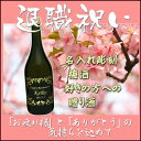退職祝いプレゼント 名入れ彫刻 梅酒好きの方への贈り酒...