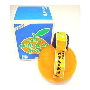 愛媛 栄光酒造 みかんの酒 360ml(丸型ボトル) えひめ果樹楽園 【専用箱入り】