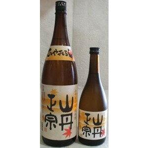 山丹正宗 ひやおろし 純米酒 1800ml