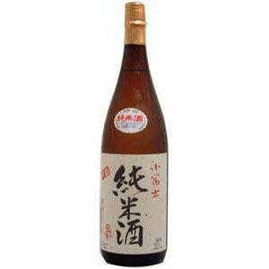 米と米麹だけで造った天然醸造小富士 純米 1.8L