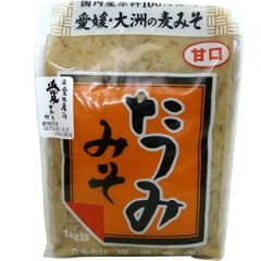 たつみ 麦みそ 粒 (甘口)1Kg