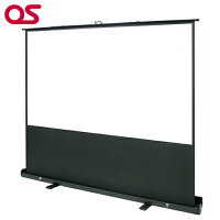 OSオーエス100型自立型スクリーン(マスク付き・パンタグラフ方式)SMS-100HM-P1