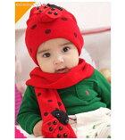 キュートなニット帽子ニットキャップ、子供帽子、幼児帽子