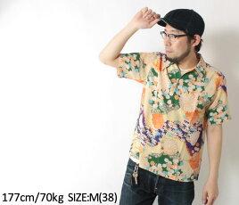 サンサーフ,アロハシャツ,スペシャルエディション,和柄,キモノデザイン,SS38675