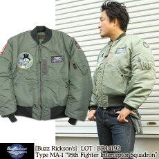 BuzzRickson's,バズリクソンズ,フライトジャケット,タイプMA-1,パッチ付き,BR14192