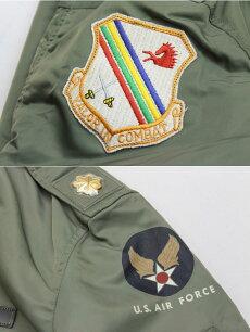 BuzzRickson's,バズリクソンズ,フライトジャケットタイプL-2B,パッチ,BR14350