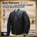 BuzzRickson's,�Х��ꥯ����,WILLIAMGIBSON,�����ꥢ�८�֥���,TypeMA-1SLENDER,BR12667