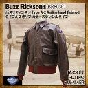 バズリクソンズ タイプA-2 赤リブ ステンシルタイプ Buzz Rickson's レザーフライトジャケット [BR80367]] バズリクソンズ Buzz Rickso…