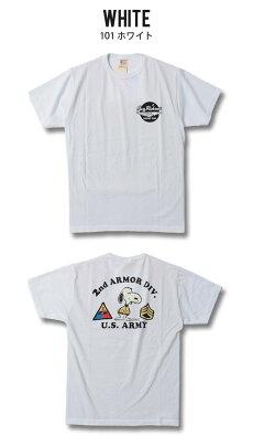 バズリクソンズ,半袖Tシャツ,ミリタリー,スヌーピー,BR78684