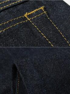 ZERO-09,レギュラーベーシックストレートジーンズ,普段穿きデニム
