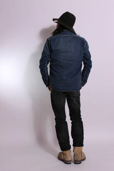 EIGHT-G,メンズ,ワークシャツ,長袖,アメカジ,無地,8LS-01RV