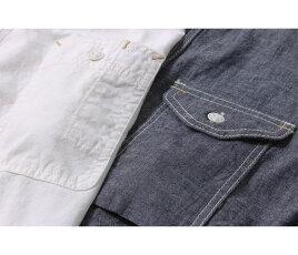 サイズ,エイトジー,EIGHT-G,シャンブレー,ワークシャツ,8SS-15