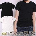 EIGHT-G 日本製 無地Tシャツ V NECK SHORT SLEEVE T-SHIRT [8ST-02] エイトジー 国産 半袖 Tシャツ ショートスリーブ Vネック 無地 ホワイト 白 ブラック 黒 アメカジ メンズ