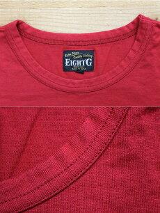 EGHT-G,エイトジー,半袖,無地Tシャツ,国産無地,8ST-01