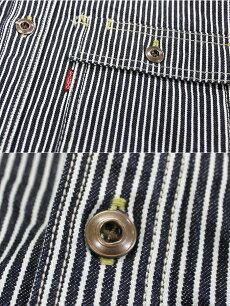 エイトジー,EIGHT-G,長袖,ヒッコリーデニムワークシャツ,ヒッコリーシャツ,8LS-18