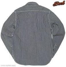 カラー,エイトジー,EIGHT-G,長袖,ヒッコリーデニムワークシャツ,ヒッコリーシャツ,8LS-18