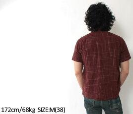 エイトジー,ハワイアンシャツ,アロハシャツ,ワークシャツ,和柄,経緯絣,8ss-30