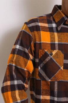 SUGARCANE,シュガーケーン,ツイルチェックワークシャツ,長袖,SC28233