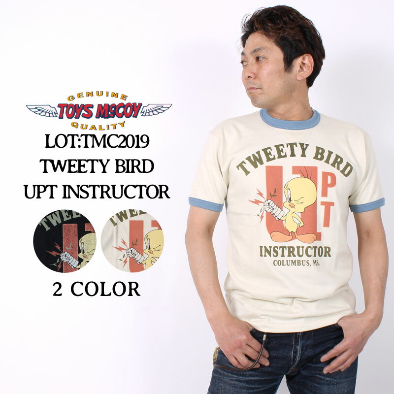 トップス, Tシャツ・カットソー  T TMC2019 TOYS McCOY MILITARY TEE SHIRT WARNER BROS. TWEETY BIRD UPT INSTRUCTOR