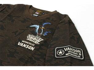 バンソン,vanson,ロンT,刺繍,ロードランナー,LTV-2119