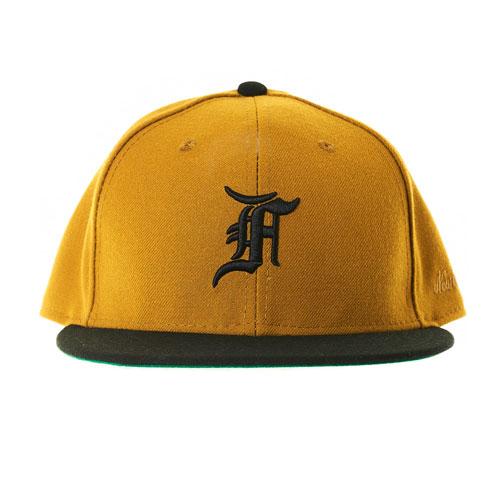 メンズ帽子, キャップ FEAR OF GOD - Fear of God New Era Fitted Cap GOLD FIFTH COLLECTION 5th