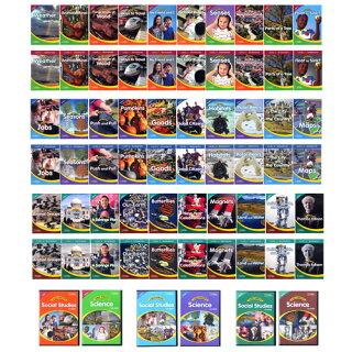 子供向け英語リーディング教材WorldWindowsLevel完全セット(Level1〜3)ナショナルジオグラフィック(NationalGeographic)ナショジオで学ぶ初級英語教材キッズ英語/リーディング/発音矯正/フォニックス