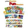 英語教材 Phonics Fun Readers Full Set フォニックス・ファン・リーダーズ フルセット25冊 CD付 英語絵本 子供 幼児 朗読CD付 フォニックス 子供用 知育 ポイント2倍