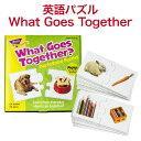 パズル 連想 意味組み合わせ 幼児 Trend Fun-to-Know Puzzles What Goes Together トレンド社 アメリカ 英単語 英語 知育玩具 知育教材 おもちゃ 子供 幼児 知育教材 おしゃれ 男の子 女の子 1歳 1歳半 2歳 2歳半 3歳 4歳 5歳 6歳 プレゼント