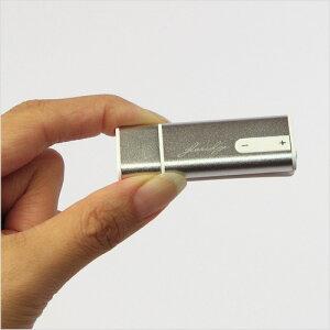 ボイスレコーダー USBメモリータイプ 小型ICレコーダー 12グラム USBメモリーボイス その場で即...