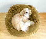 ペットクッション犬・猫・ペット用低反発マシュマロクッションライトブラウン(パッケージはホワイトと同様になります)